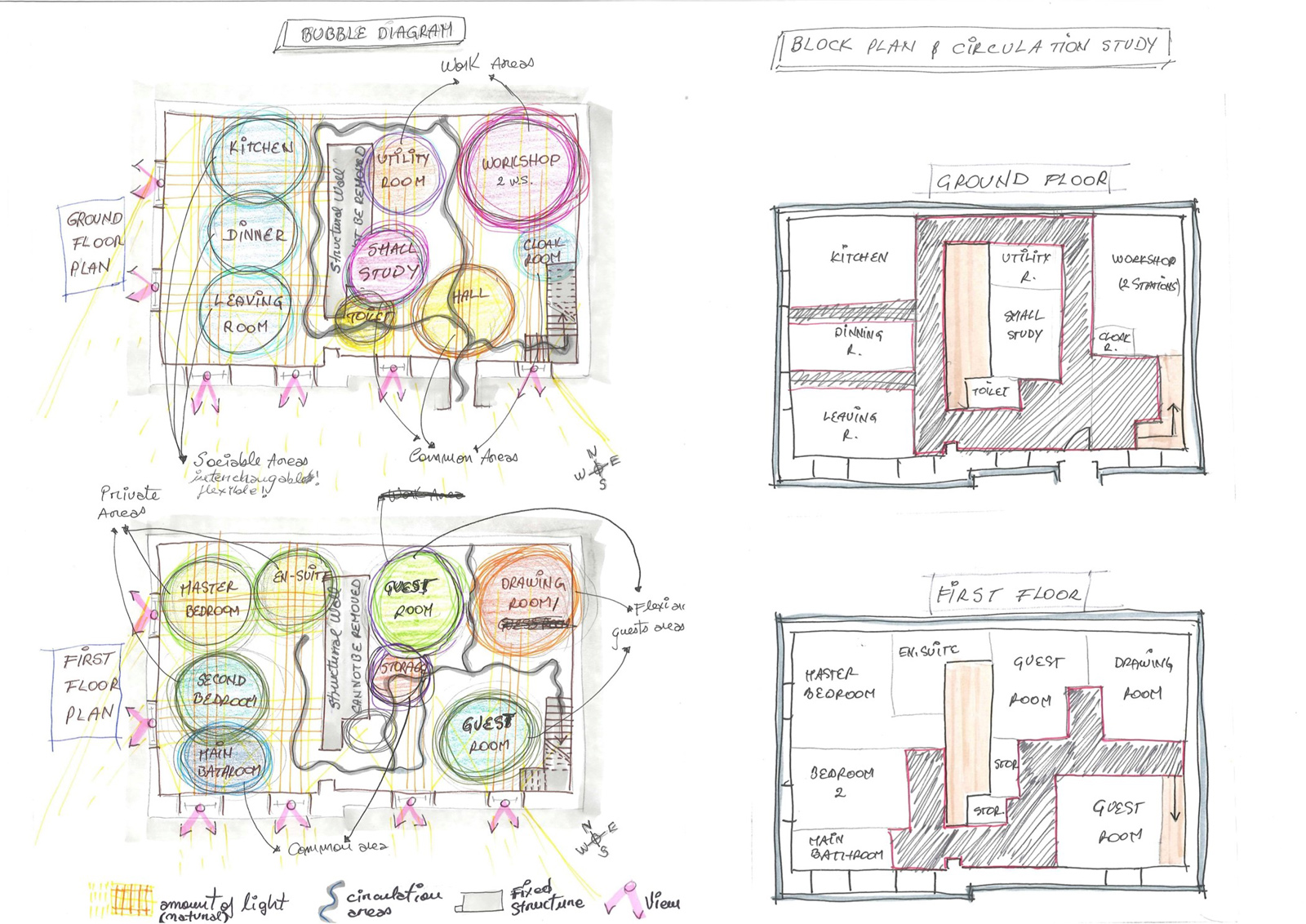 BA  Hons     Interior    Design  Development Work
