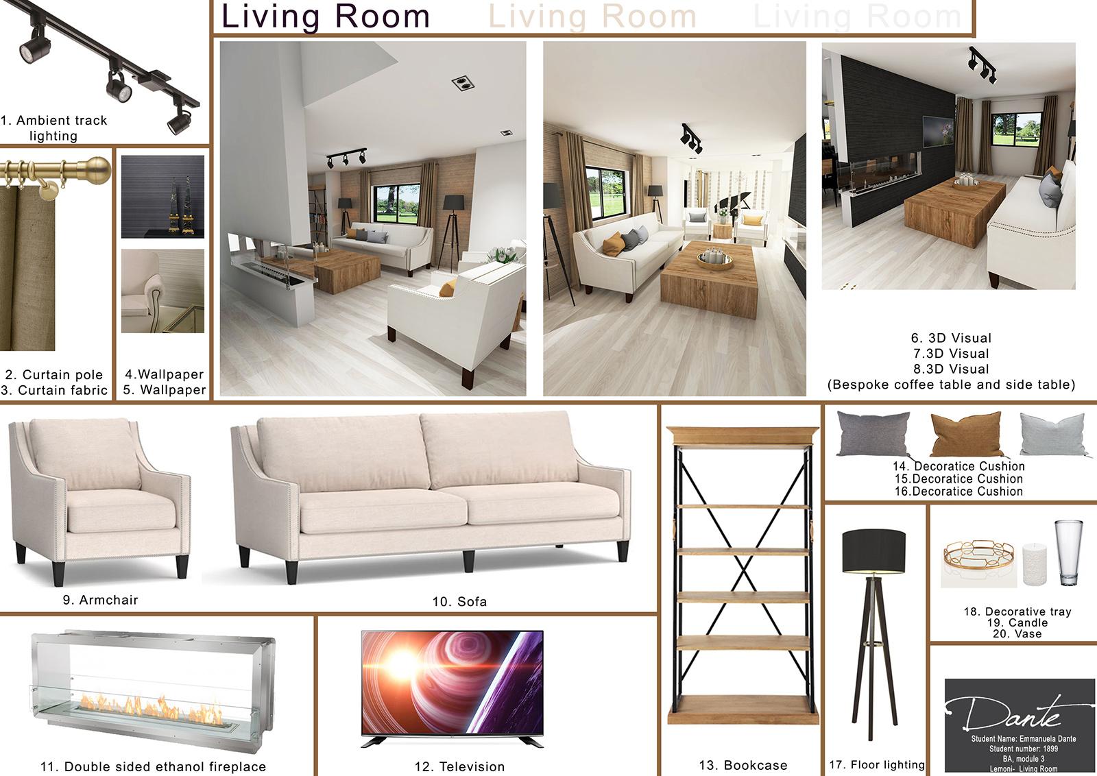 National Design Academy BA Interior Design Presentation 02