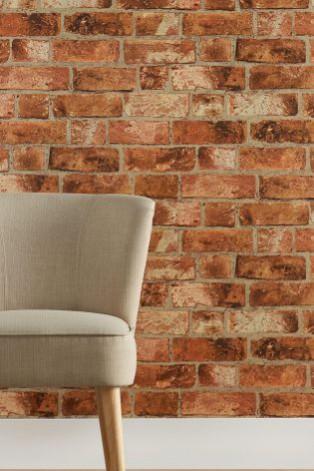 Next Brick wallpaper design. Sex and the city set design inspired interior design ideas