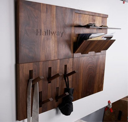 Storage Ideas For Small Hallway Spaces. Mike, (2010) Digdigs, Wooden  Hallways
