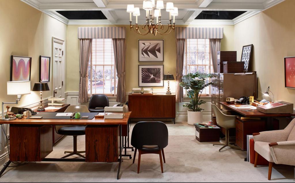 Mad Men Era Interior Design Inspiration