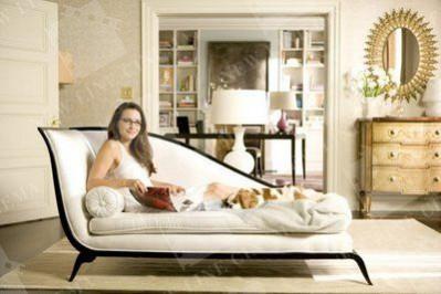 Charlotte York chaise longue set design interior design inspiration