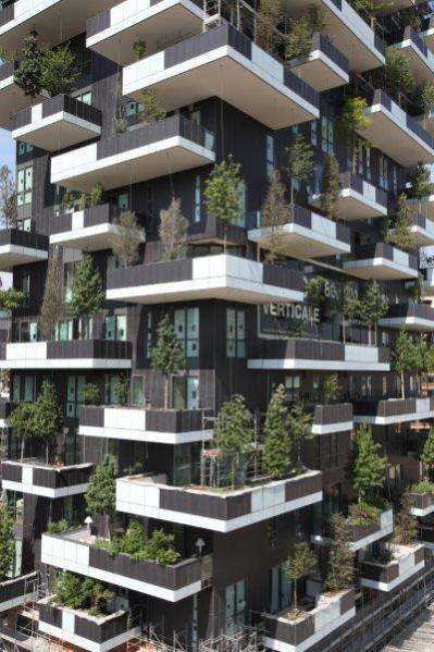 Vertical Gardens & Sustainable Design