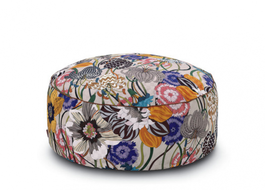 Sex and the City 2 Set Design Interior Design Inspiration. Missoni Home Pallina Pouf available to buy at Amara