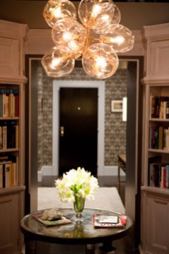 Big and carries library hallway lighting. sex and the city 2 set design inspired interior design ideas by adelman studios