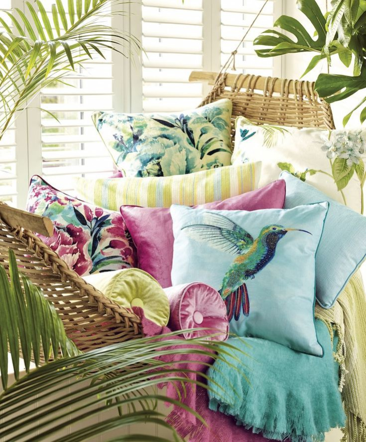 How to incorporate the tropical trend. Laura ashley's spring/ summer collection