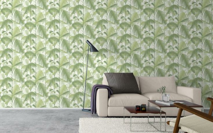 Palm Jungle wallpaper print by Cole and son. How to incorporate the tropical trend into your interior scheme.