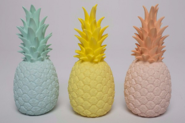 goodnight light pineapple lamp. Incorporating the tropical trend into your interior.