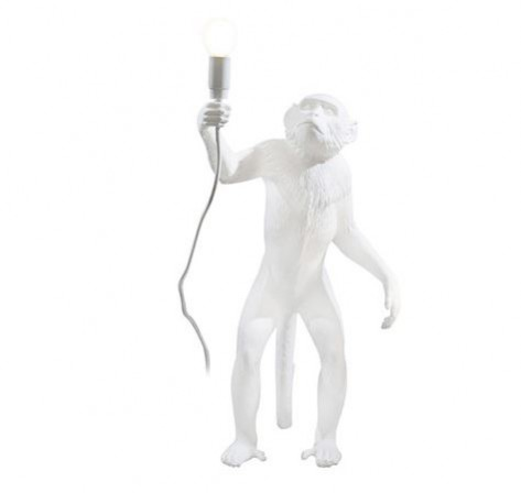 Seletti monkey lamp available at Amara. How to incorporate the tropical trend into your interior