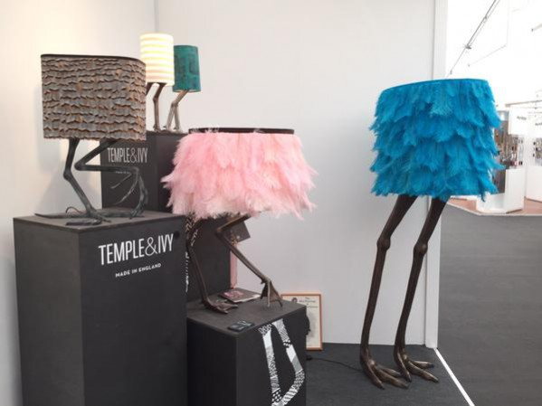 Temple & Ivy lighting at this year's Decorex International 2015 stand J19