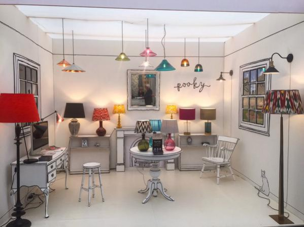 Pooky Lighting at this year's Decorex International stand E44