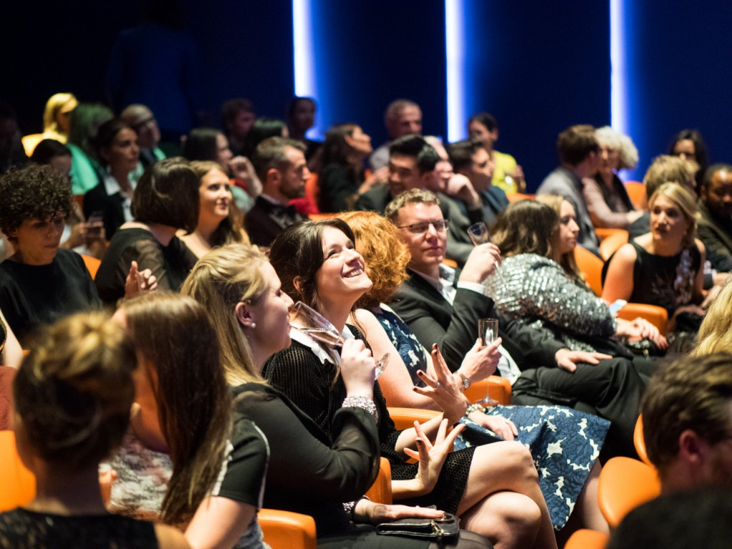 Waiting for Sophie Robinson to take to the stage to announce this years Amara Interior Blog Awards winners. Image courtesy of John Nassari