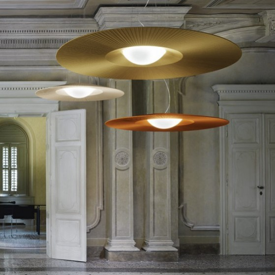 Nicholas Sunderland Interview: Lighting example by Centrelight Mo Suspension Light