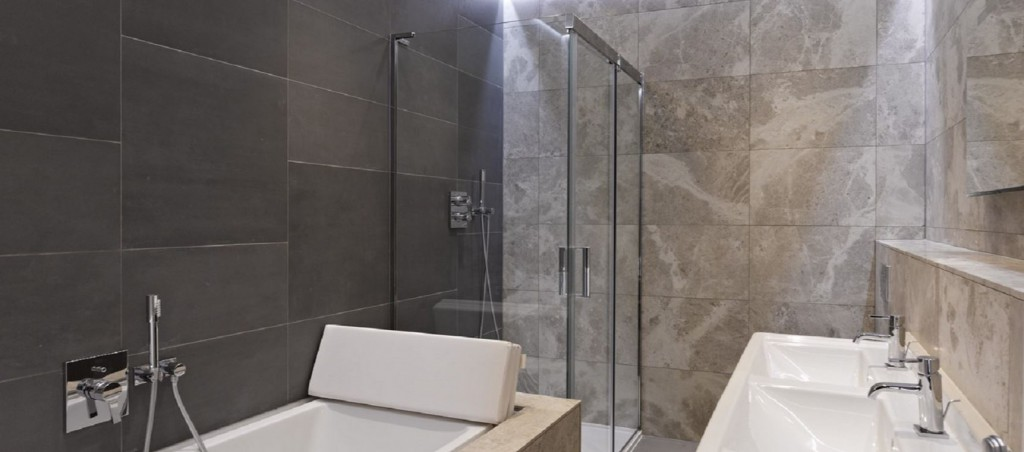 Nicholas Sunderland Interiors interview: Case study, bathroom design from the Brook Street property.