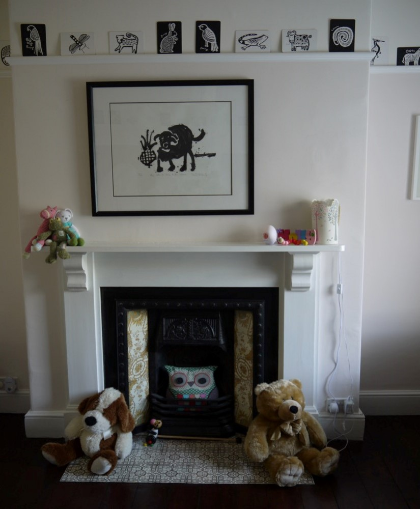 National Design Academy student Carolyn has successfully been shortlisted for the submission of her Welsh Victorian Townhouse Retrofit project within the student/graduate category. The Nursery fireplace.