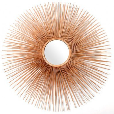 On the NDA's Christmas Interior Wishlist is the statement Pols Potten Prickle Mirror in gold.
