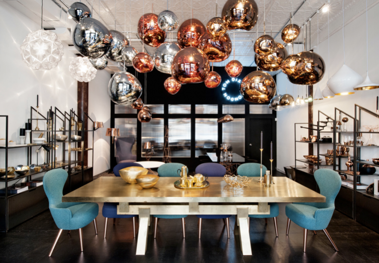 Sparkle All Year: Tom Dixon Studio, New York, Soho: http://www.tomdixon.net/uk/nyc-shop.html