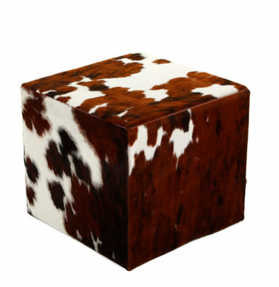 NDA's Christmas Interior Wishlist: Adding cosy textures and layers is key this Autumn/Winter. We love Amara Living's luxury cow hide pouf but it is hardly budget-friendly, we found cheaper alternatives if this is out of your price league this year.