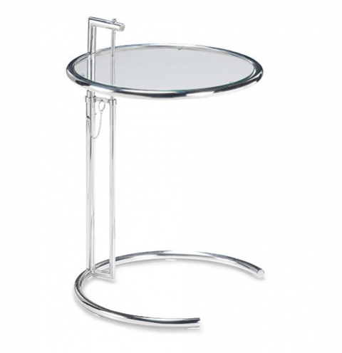 the NDA Christmas interior wishlist: We are lusting after the beautifully elegant, multi-functional Eileen Gray side table  design. This great replica is from Milan Direct.