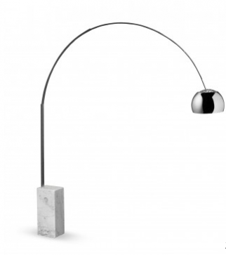 The NDA Christmas interior wishlist: We chose the iconic Arco floor lamp by Flos as it is beautiful in both its form and function and it's now recognised as a design classic.