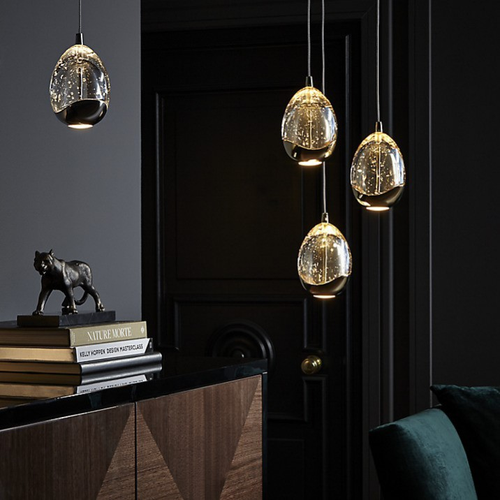 Sparkle All Year: John Lewis Droplet Pendant: http://www.johnlewis.com/john-lewis-3-droplet-led-pendant-ceiling-light-chrome/p1866553