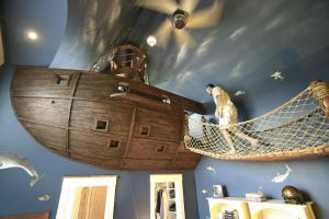 chiildren's interior design ideas pirate chic