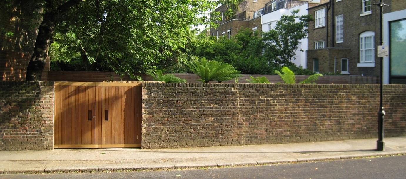 London Garden Fence