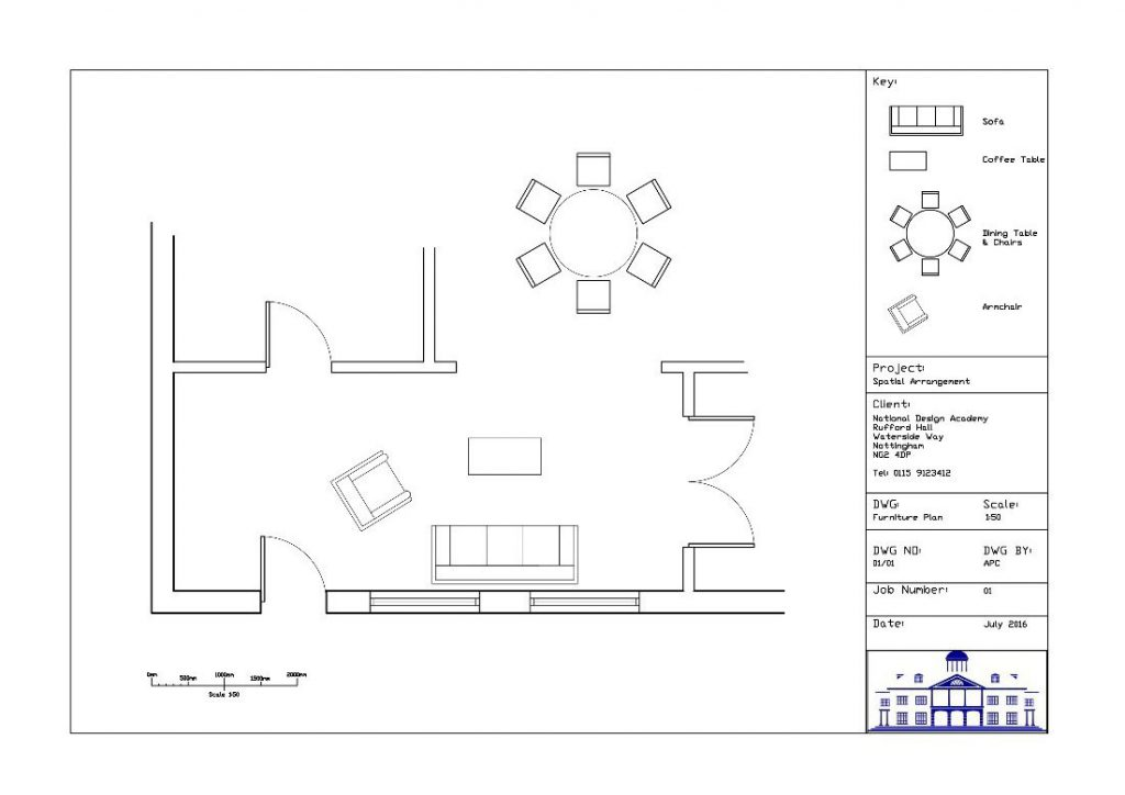 AutoCAD For Interior Design   National Design Academy