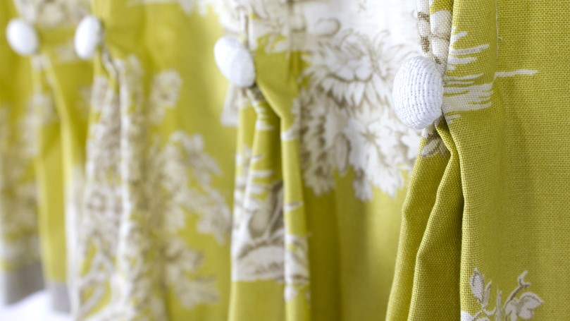 Curtain example - National Design Academy student