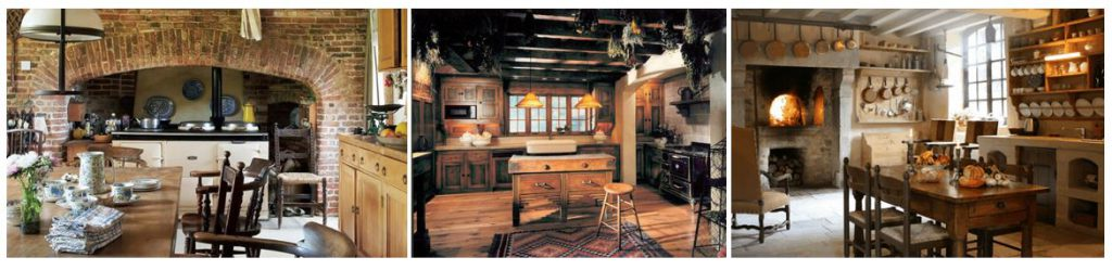 Traditional farm house interior design