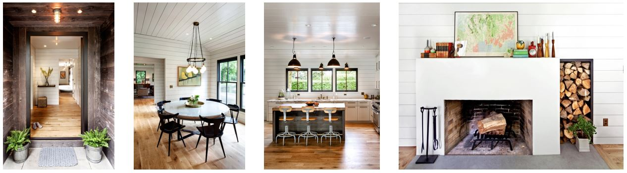 Portland farmhouse interior design by Kristin Rowell