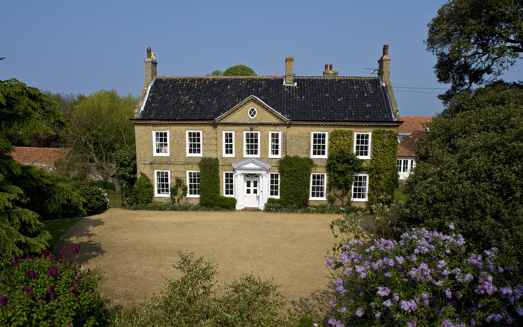 Traditional farmhouse in Norfolk