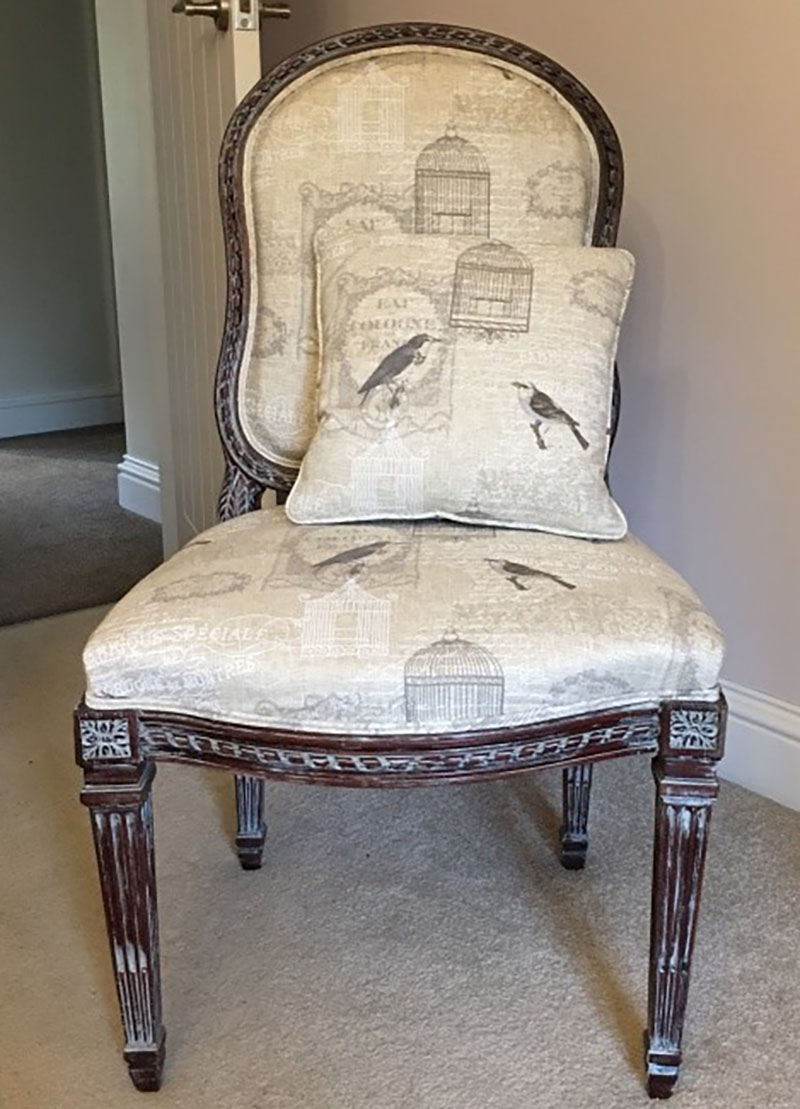 Restoring old chair