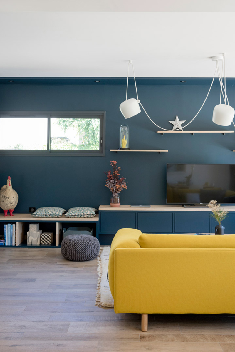Blue and Yellow Interior Trends