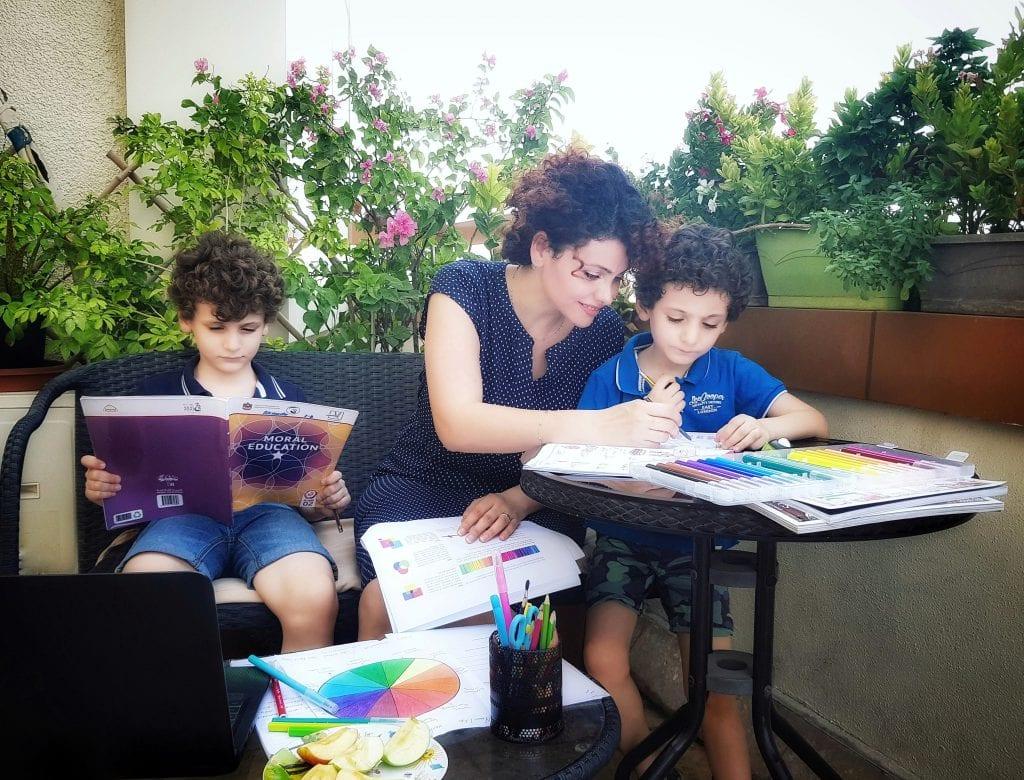 Nawara Adra & Family