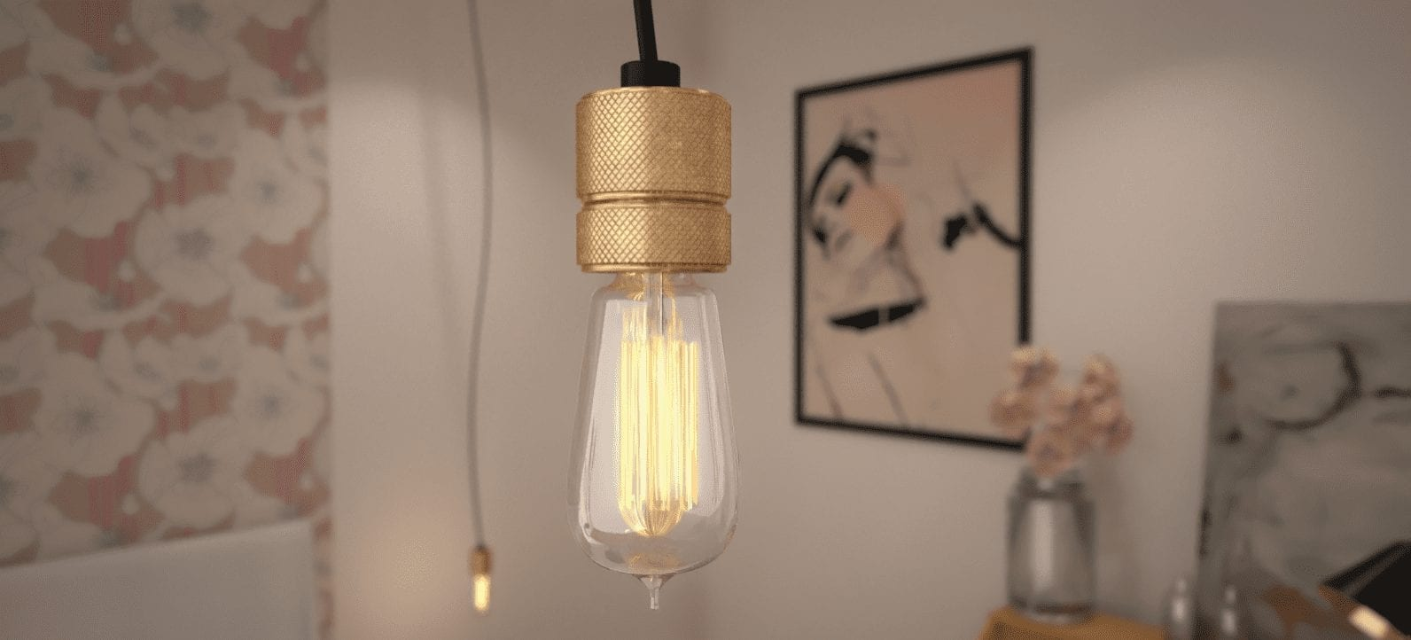 National Design Academy graduate Anita Brown shares her top 5 tips on how to render a realistic interior render. 3D Visualisation Edison Bulb