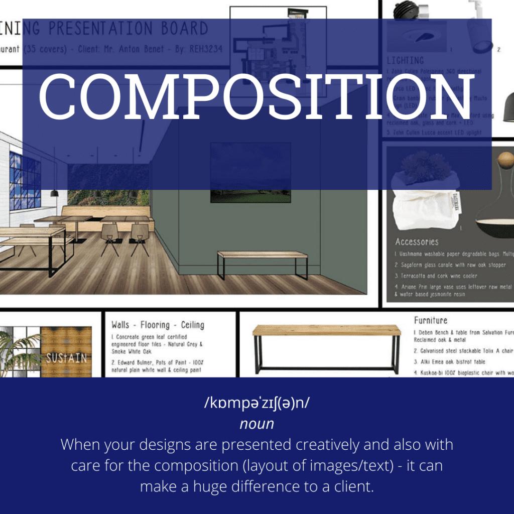 interior design terms - compositions