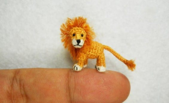 Crochet Lion by Su Ami