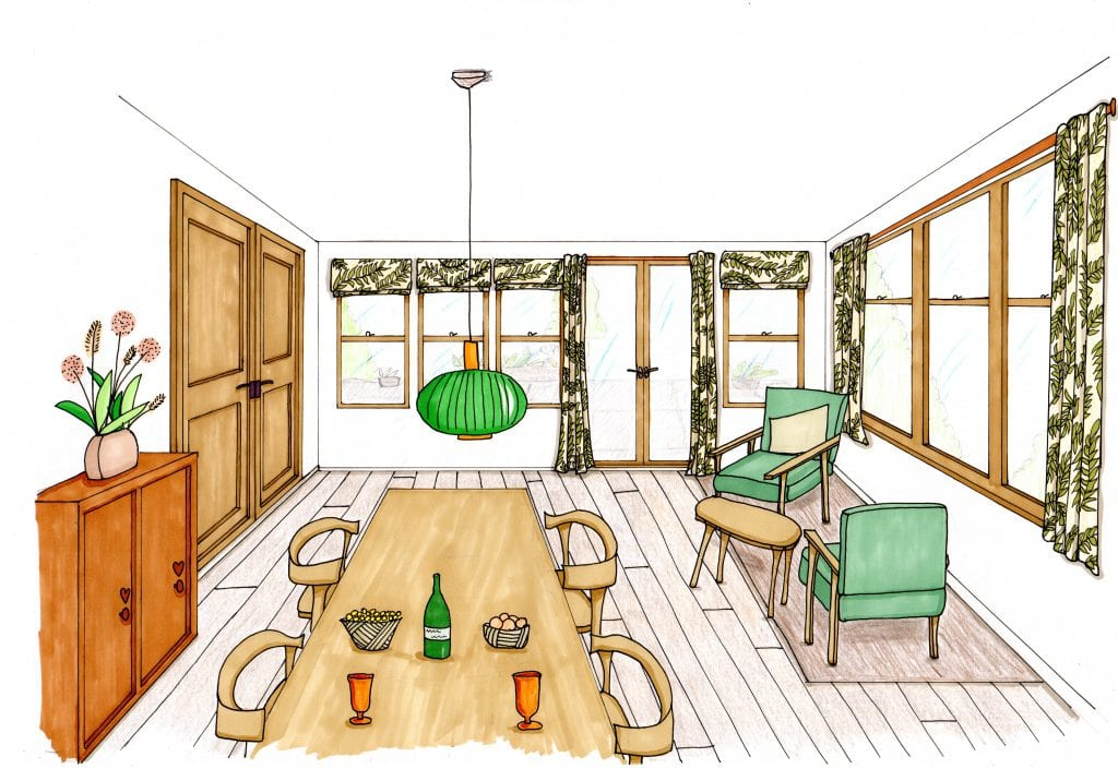 Loscombe Down Dining Room