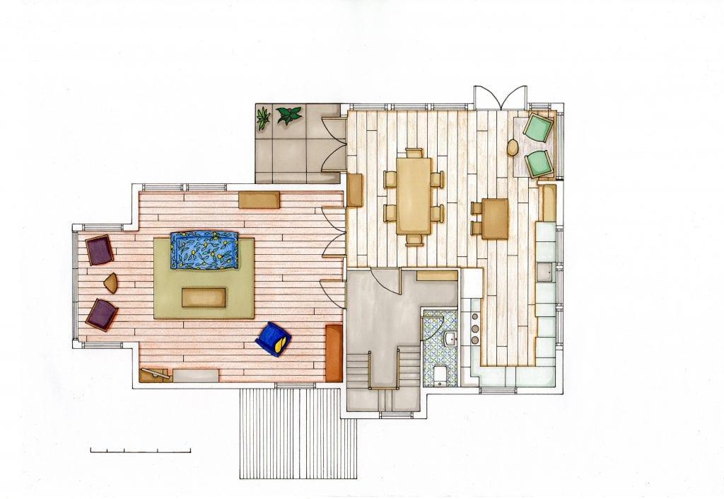 Loscombe Down Floor 2 rendered floor plan