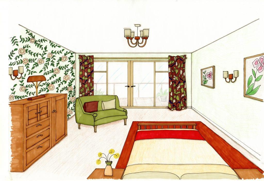 Loscombe Down Master Bedroom