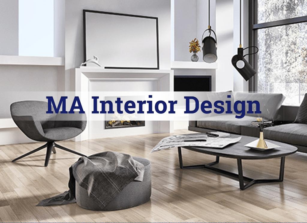MA Interior Design Online Degree