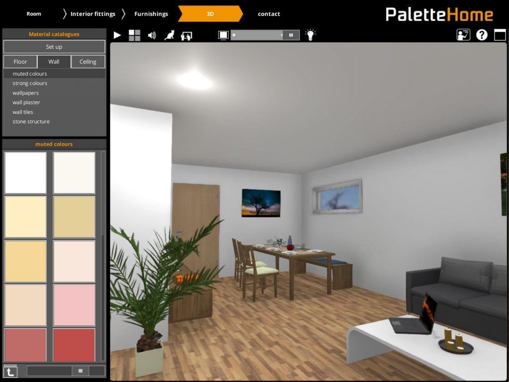 Palette Home app