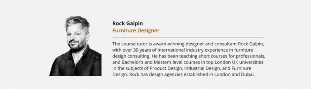 Rock Galpin Furniture Designer