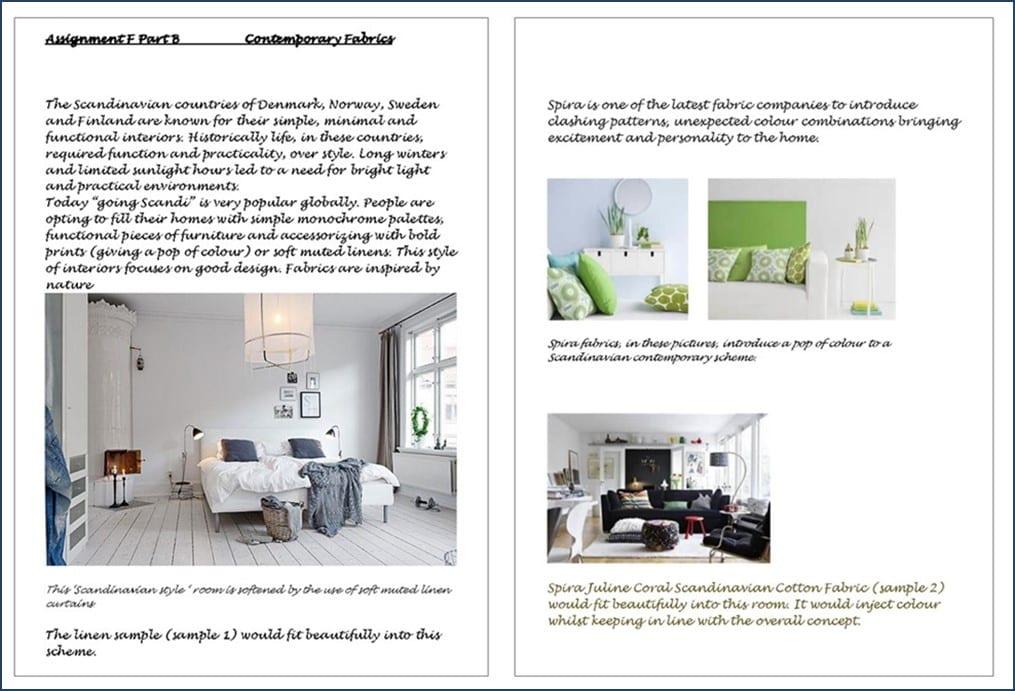 Contemporary fabrics - Professional Curtain Making