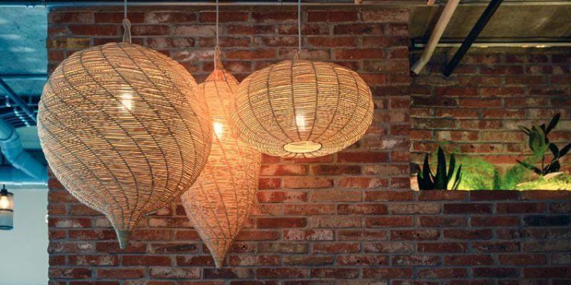 bamboo pendants
