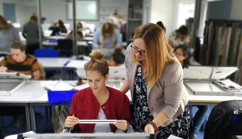Interior Design studio teaching