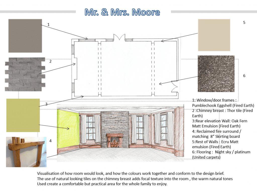 Damian Mayhew - Room Visualisation FdA Interior Design