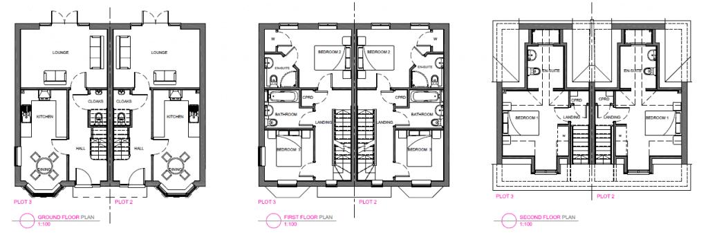 Damien Mayhew floor plans FdA Interior Design