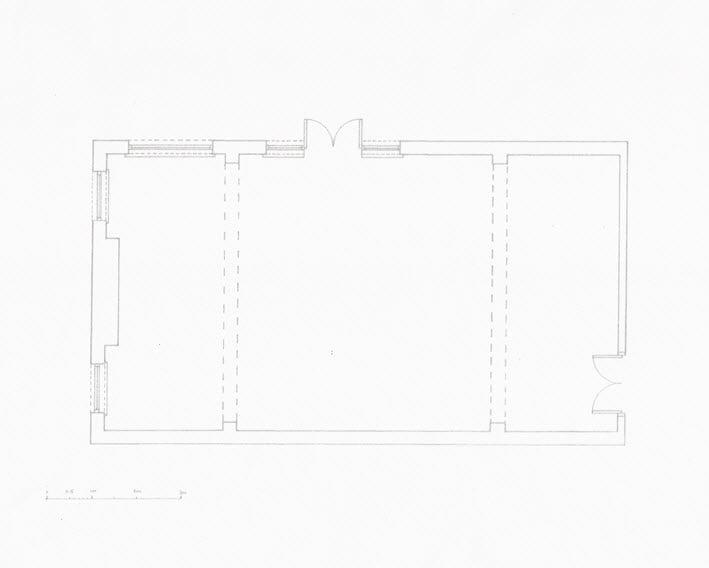 technical drawing interior design floorplan